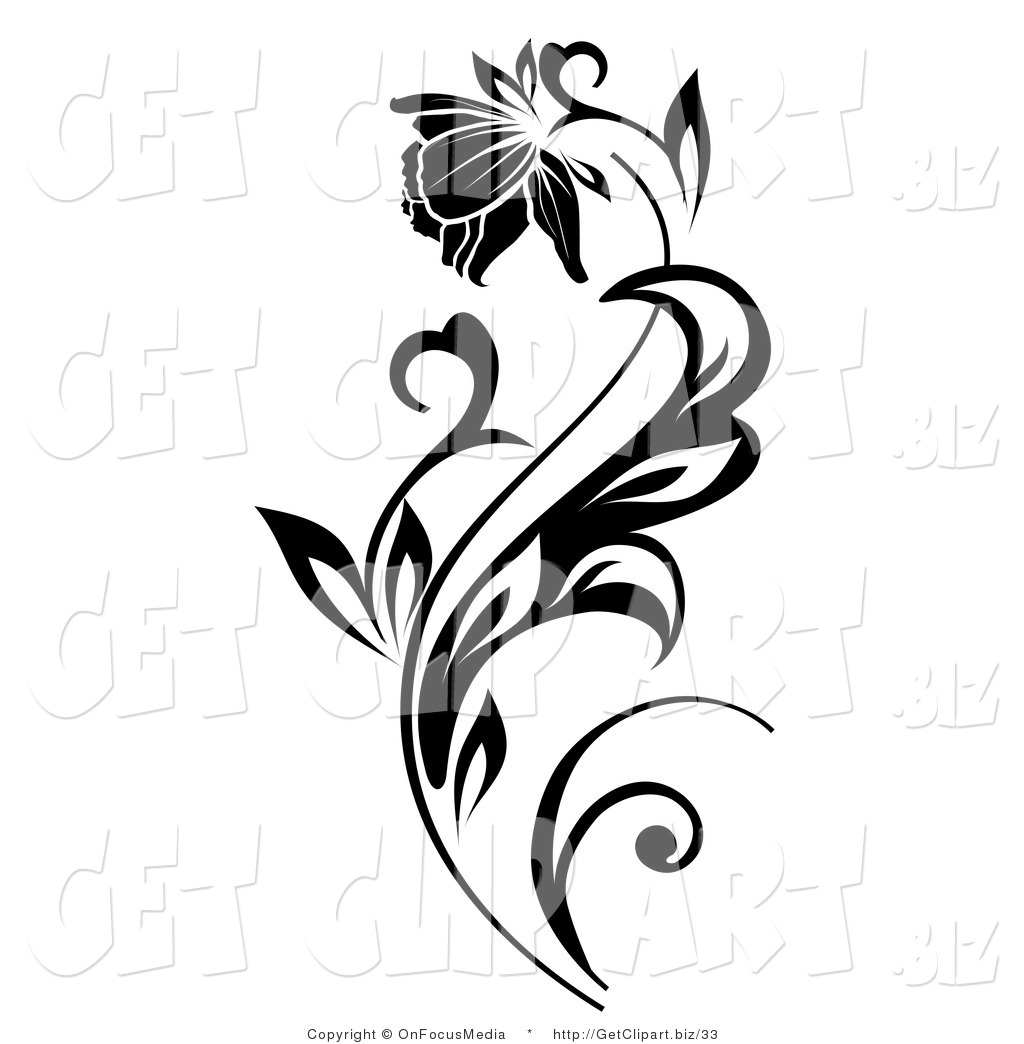 Royalty Free Stock Get Designs of Flowers.