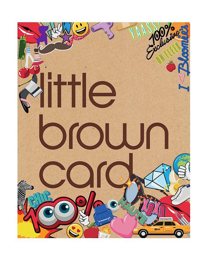 Bloomingdale\'s Bloomingdale\'s Emoji Little Brown E.