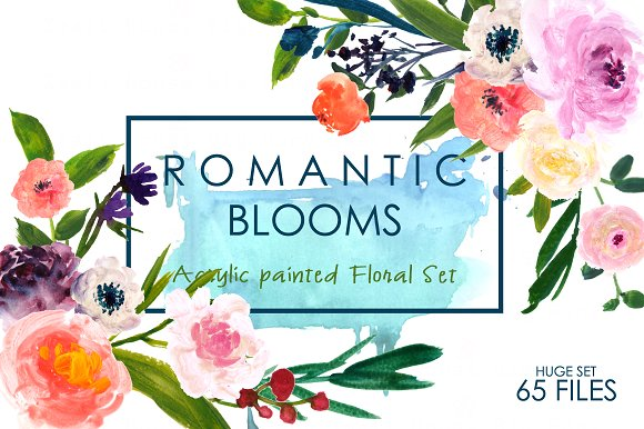 Romantic Blooms.
