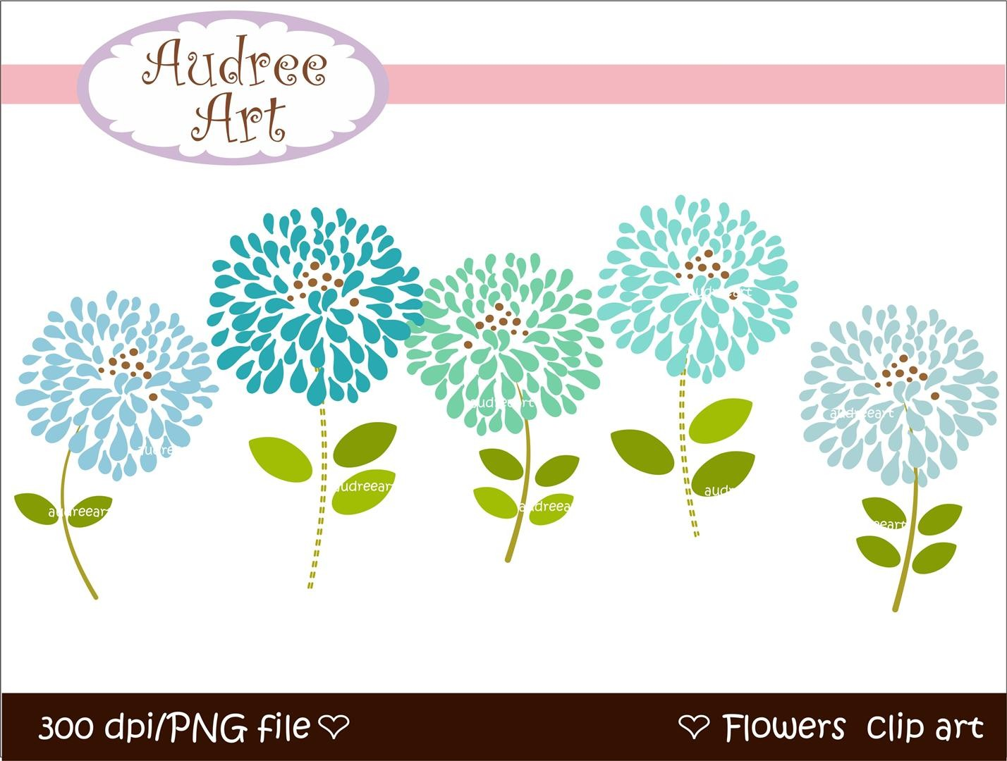 Blooming Clipart.