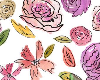 Botanical doodles.