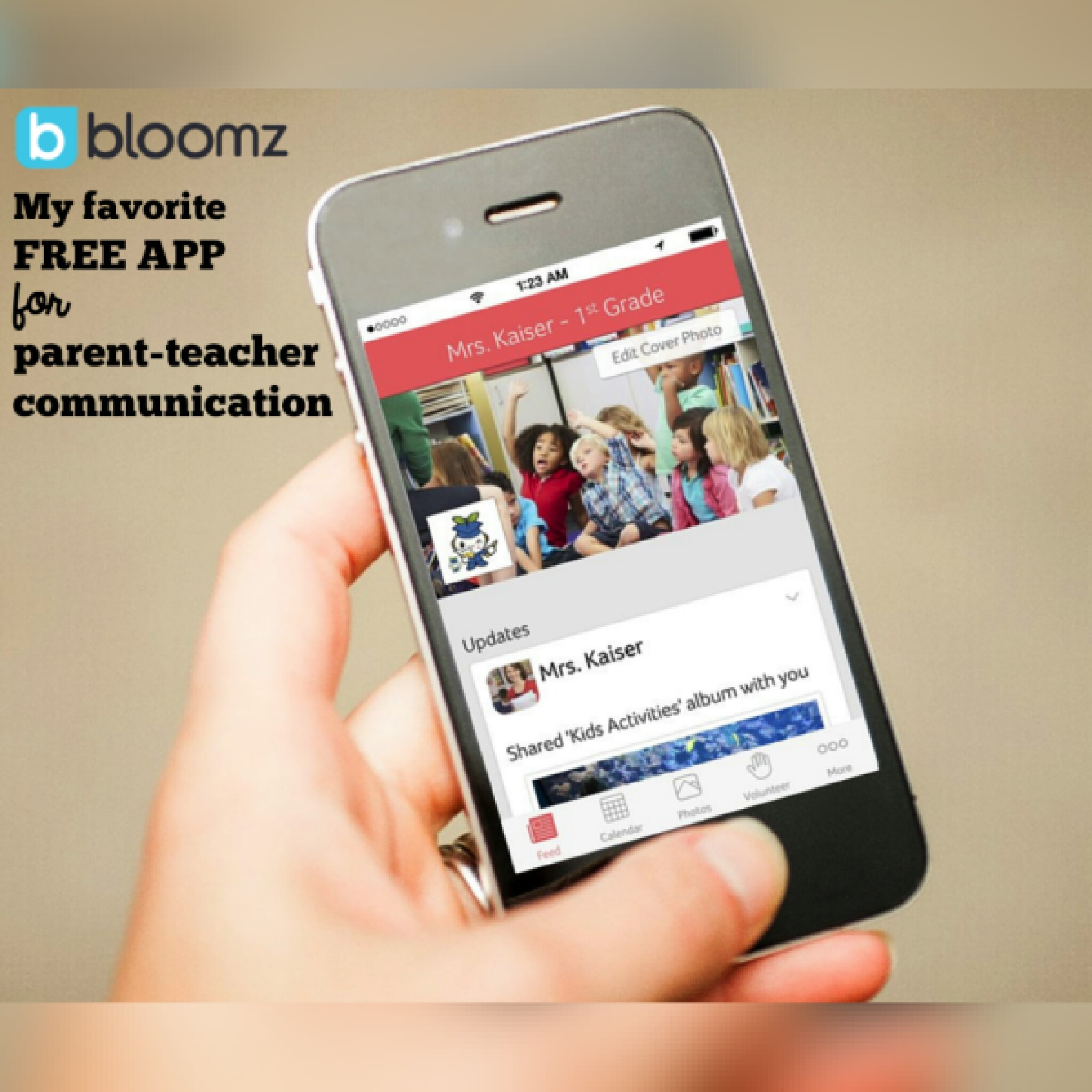 Bloomz: my favorite FREE app for parent.