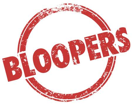 119 Blooper Stock Illustrations, Cliparts And Royalty Free Blooper.