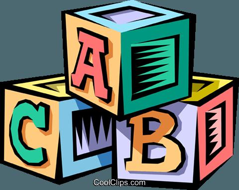 bebé bloques libres de derechos ilustraciones de vectores.