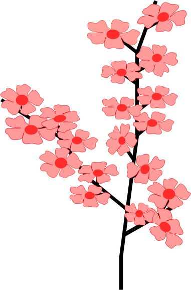 Cherry Blossom Clip Art & Cherry Blossom Clip Art Clip Art Images.