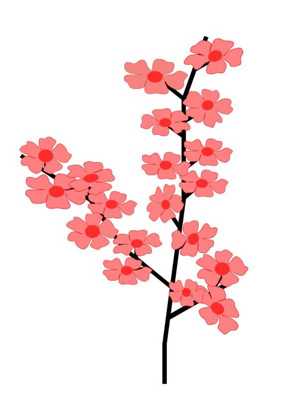 Sakura Clipart Royalty FREE Flower Images.