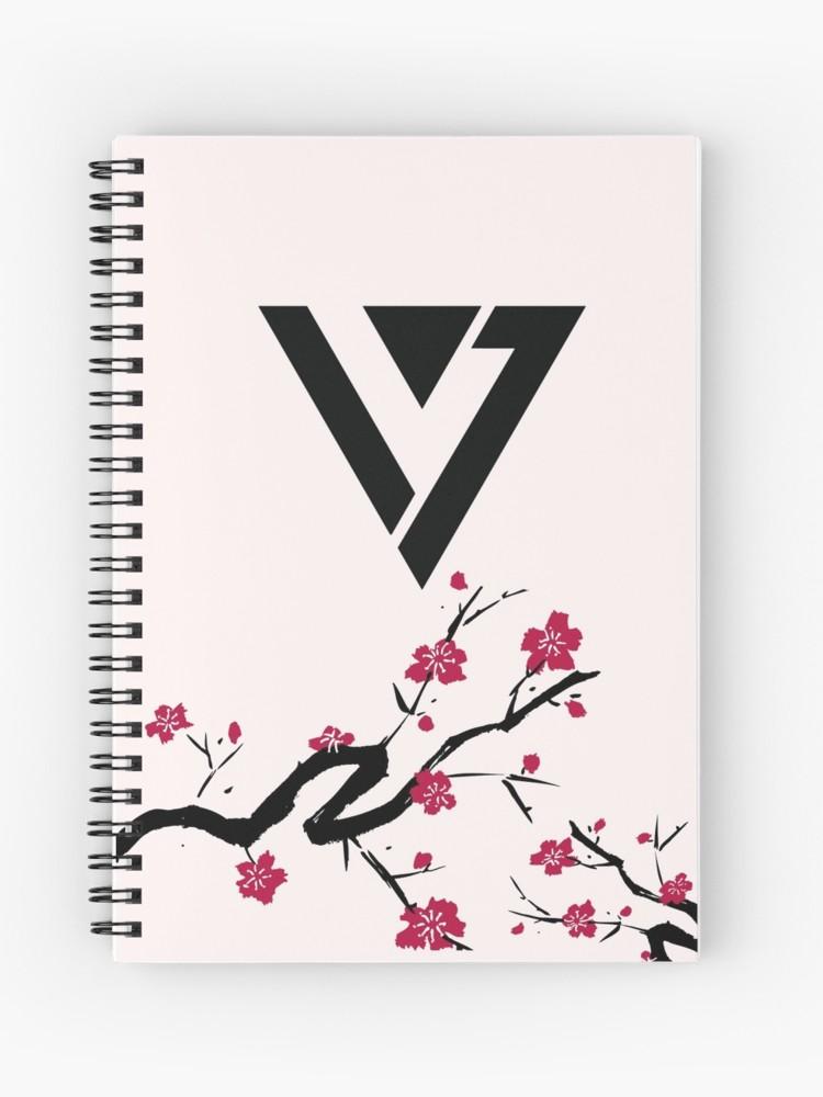 Seventeen Cherry Blossom Logo.
