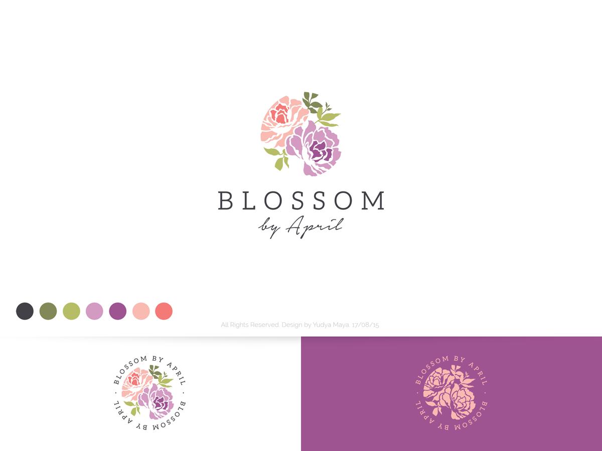 Elegant, Traditional, Florist Logo Design for Blossom by.