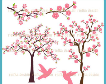 Blossom Flower Tree Clip Art.