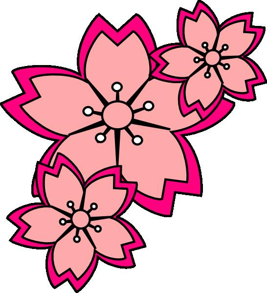Blossoms Clipart.