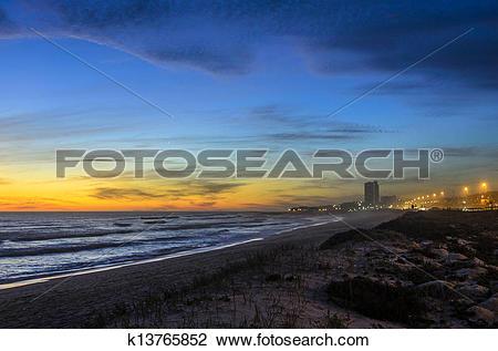 Stock Photo of Blouberg Beach, Western Cape k13765852.