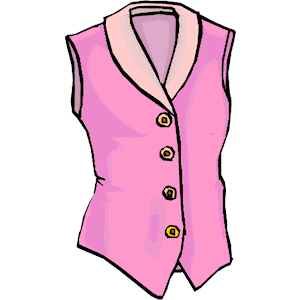 Clip Art Girl With Blouse Clipart.