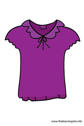 Free clipart blouse.