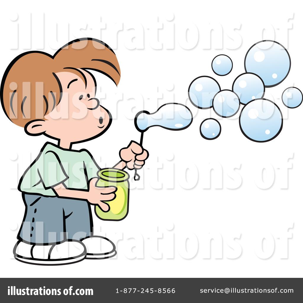Blow bubbles clipart #7