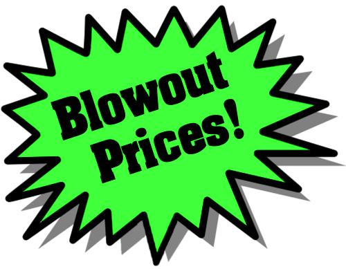 Blowout Sale Clipart.