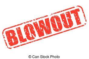 Blowout sale clip art.
