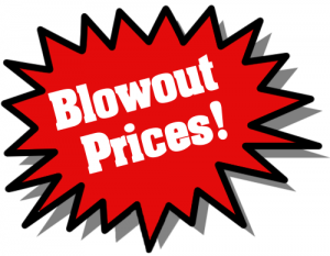 Blowout Prices Left Red Clip Art Download.