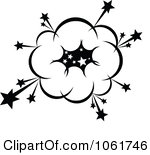 Bomb Blowing Up Clipart.
