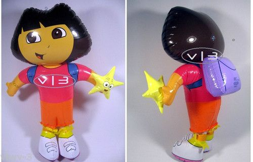Dora The Explorer Figure Doll Inflatable Blow Up Kids Toys.