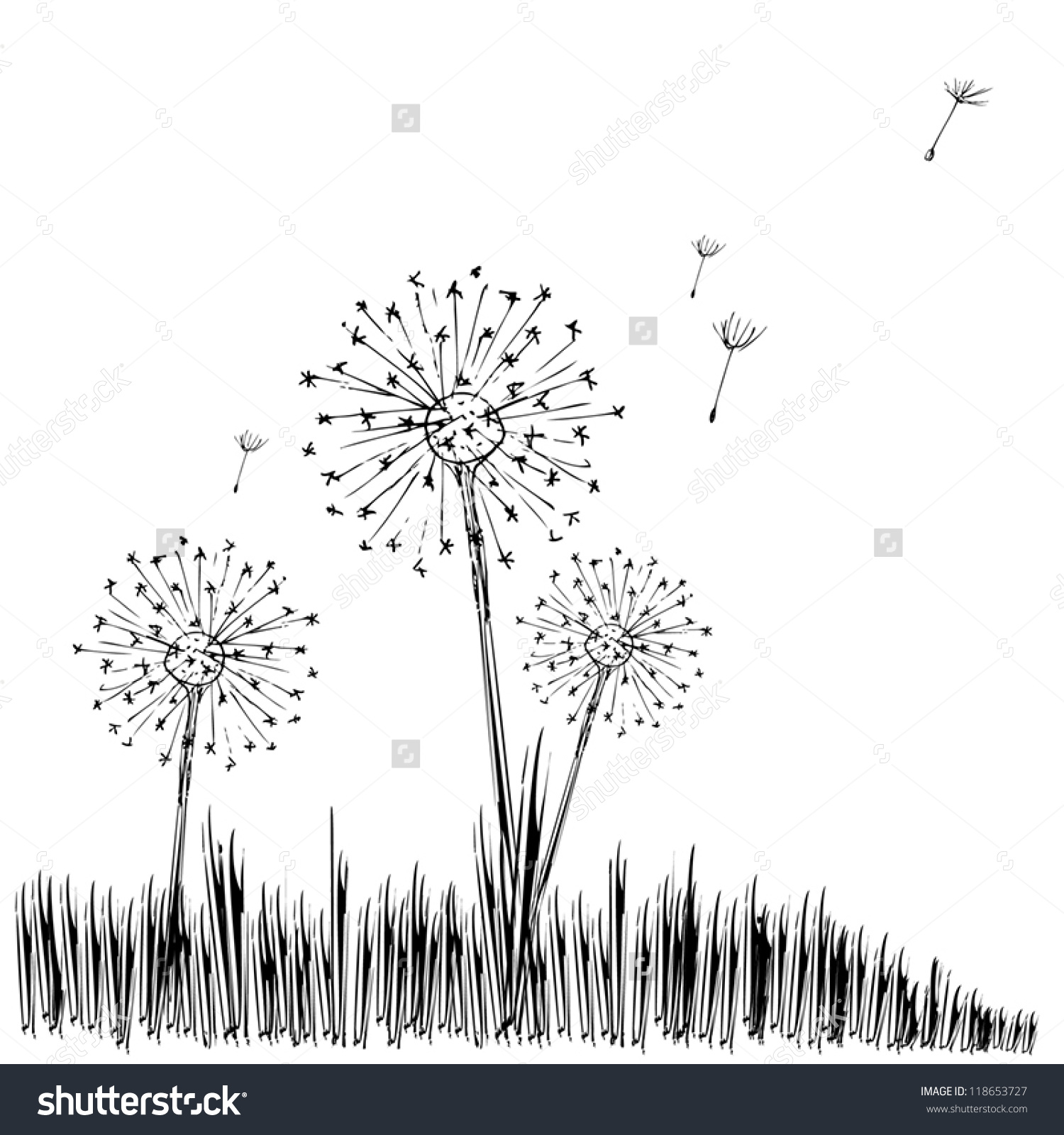 Blow Ball Stock Vector 118653727.