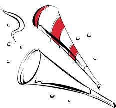 Party blower clipart.