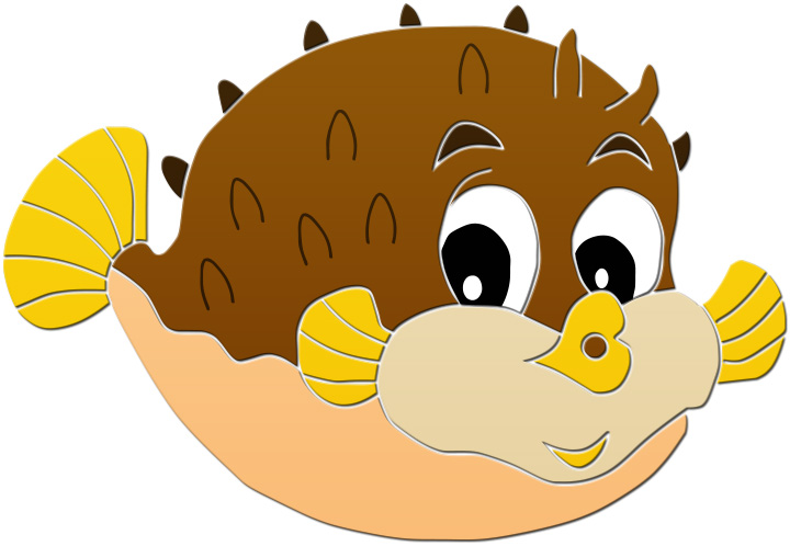 Blowfish Clipart.