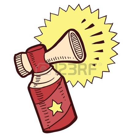 647 Air Horn Stock Vector Illustration And Royalty Free Air Horn.