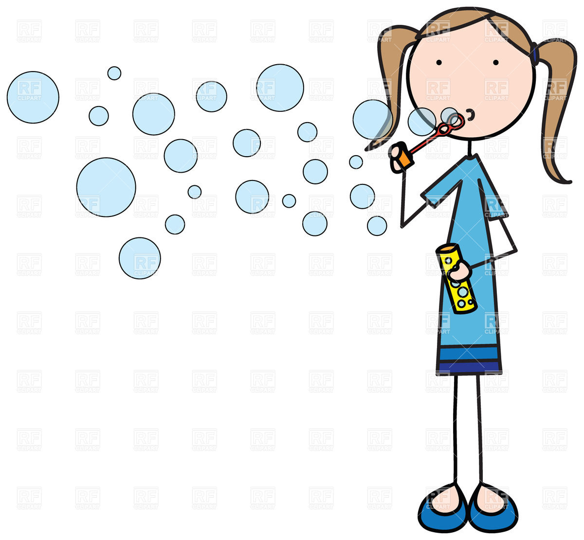 5326 Bubble free clipart.