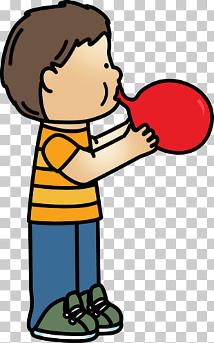 39 blow A Balloon PNG cliparts for free download.