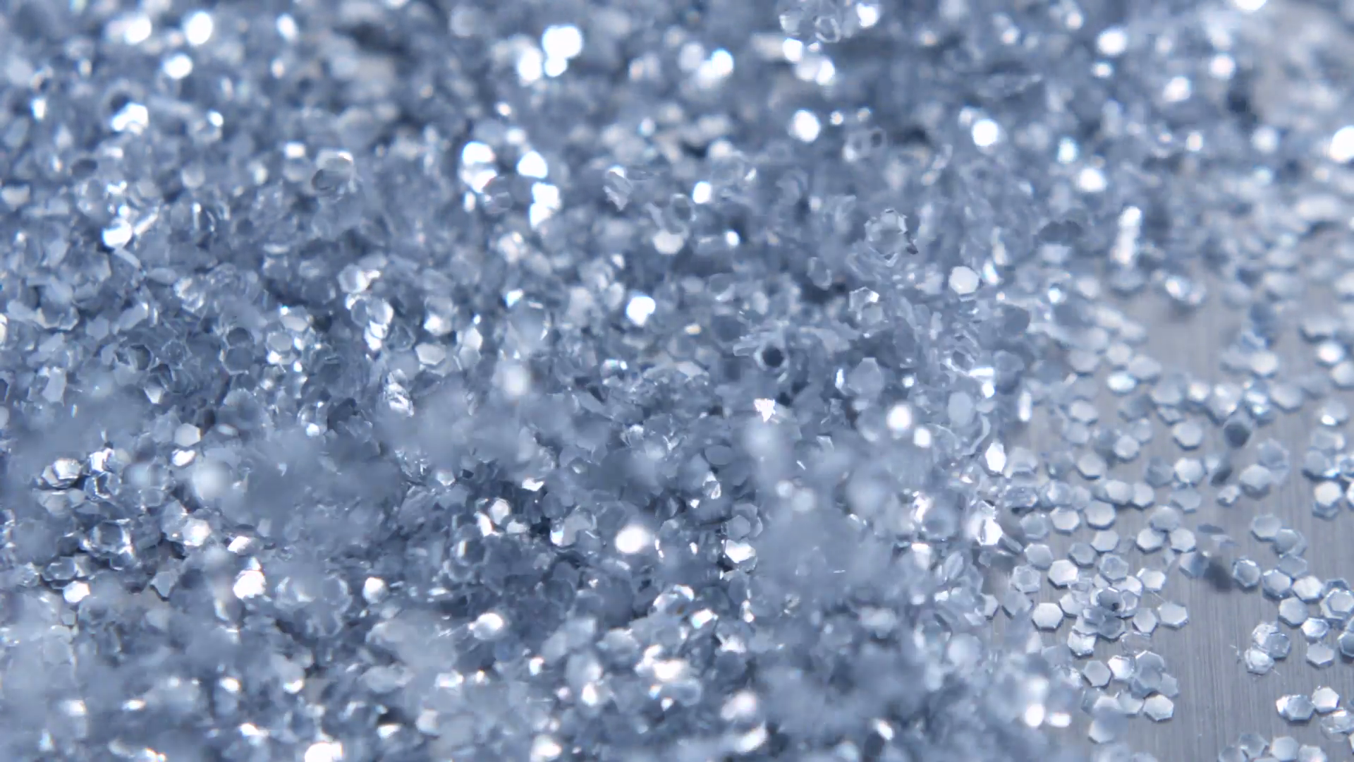 Blowing glitter, Slow Motion Stock Video Footage.