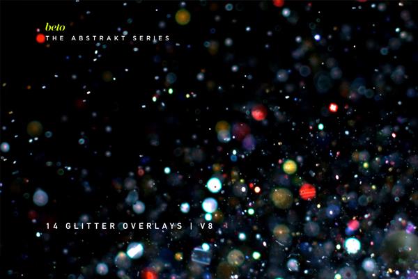 Glitter Photoshop Overlays.