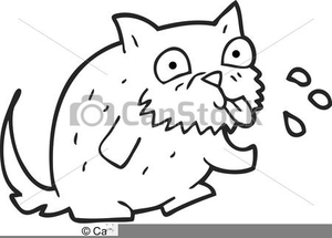 Blowing Raspberry Clipart.