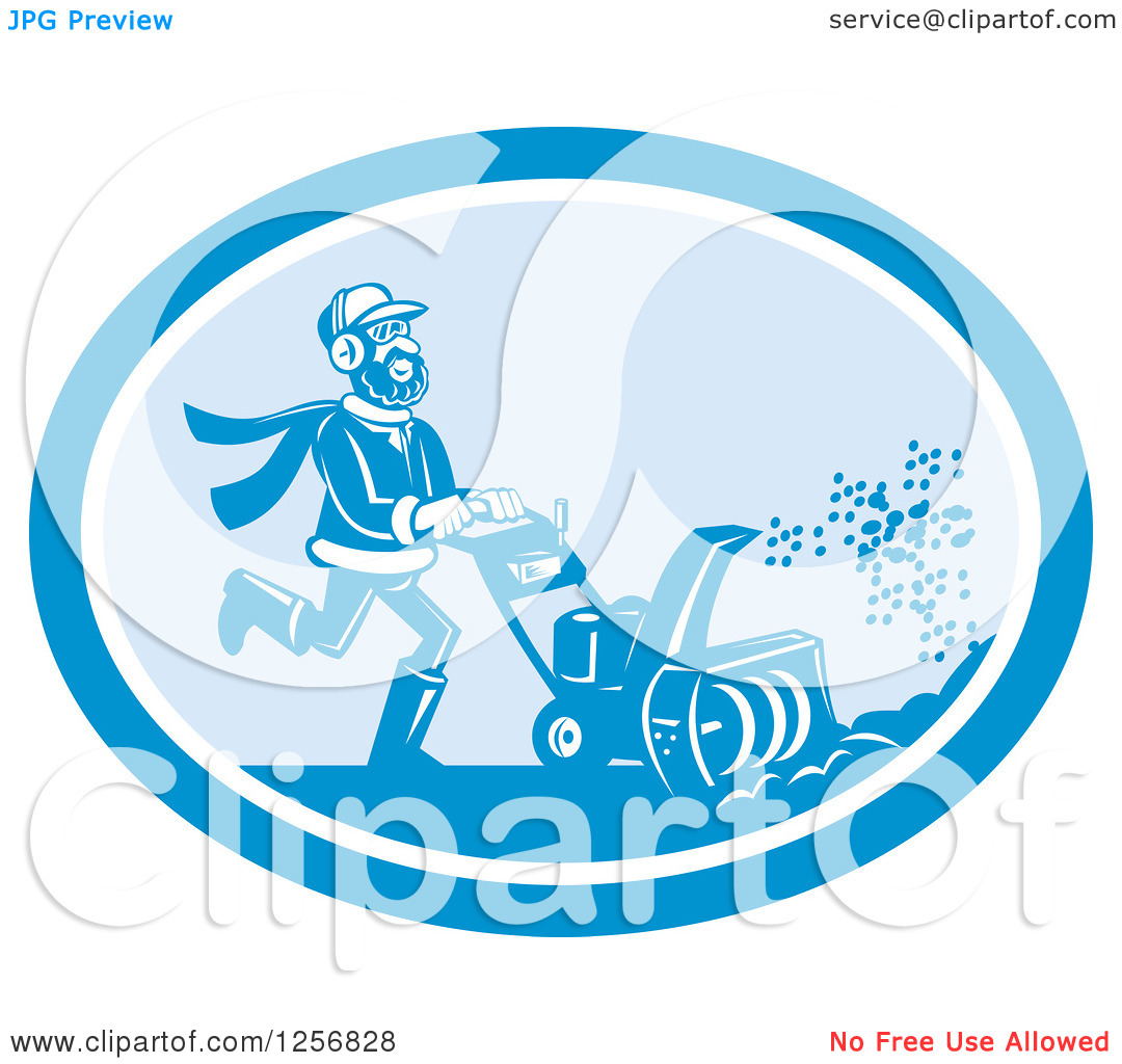 Cloud Blowing Of Snow Clipart.
