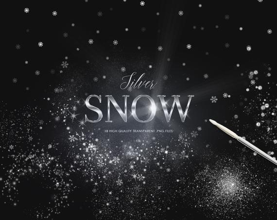 18 Snow Overlays PNG Clipart Blowing Snow Winter Overlay.