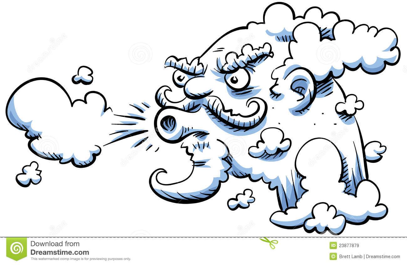 Clip Art Of Blowing Art Clipart.
