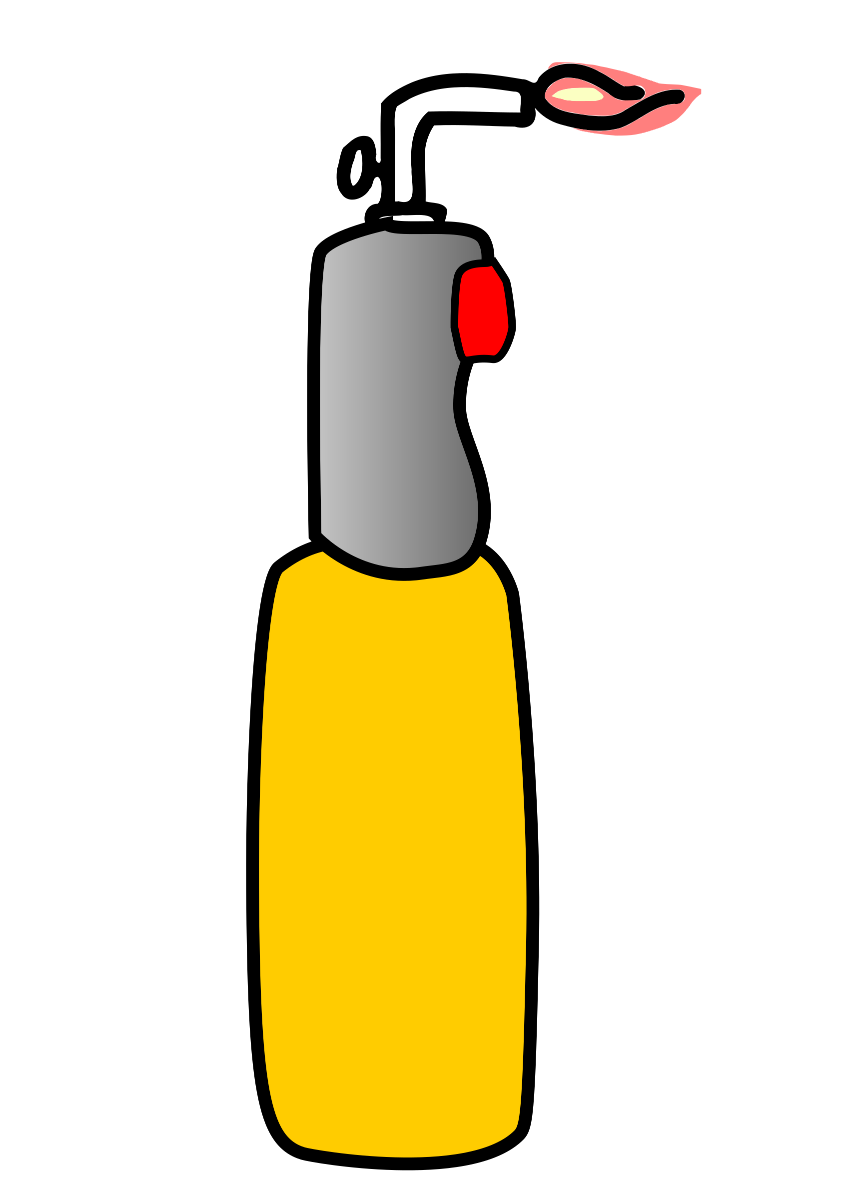 Blow torch clipart.
