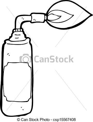 Vector Clipart of cartoon blow torch csp15567408.