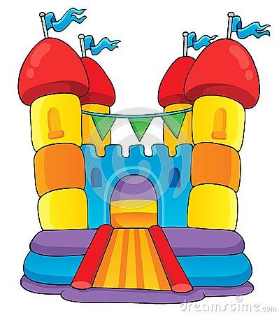 Bouncy Slide Clipart.