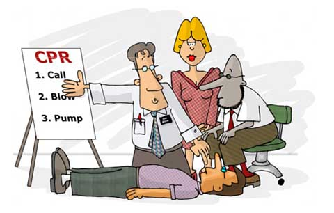 Dutchess County BLS CPR Class.