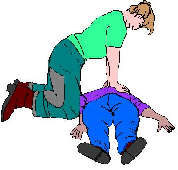 Basic life support clipart.