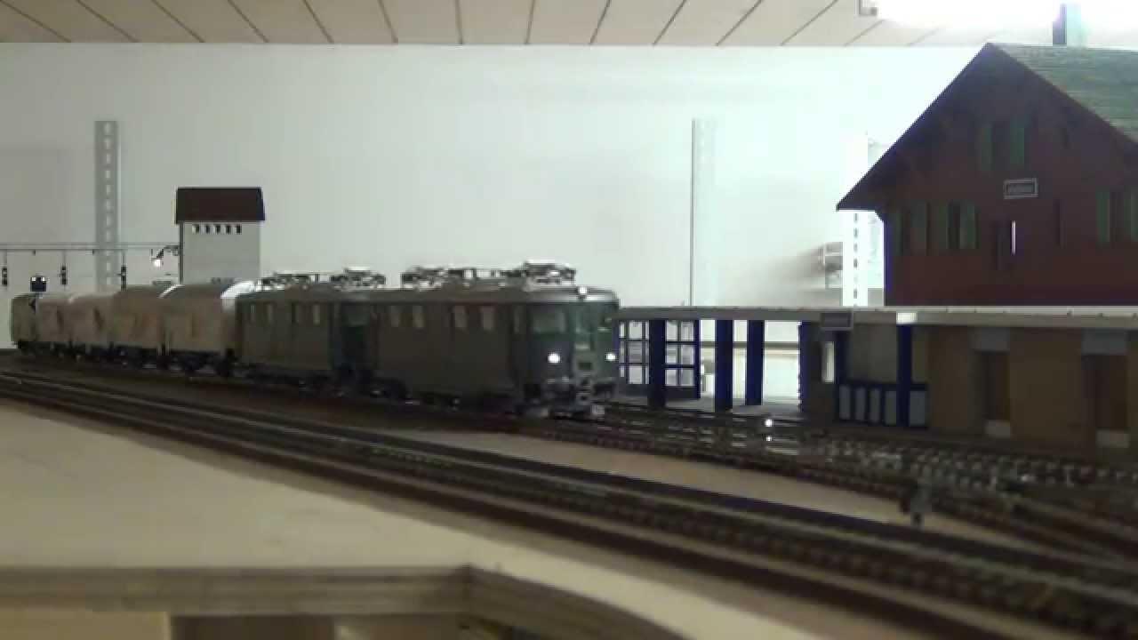Züge rund um Hohtenn an der BLS Südrampe.