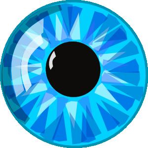 Blu eye clipart.