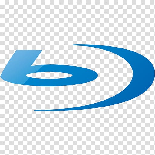 Logo Brand Trademark Font, Blue Blu Ray Icon transparent.