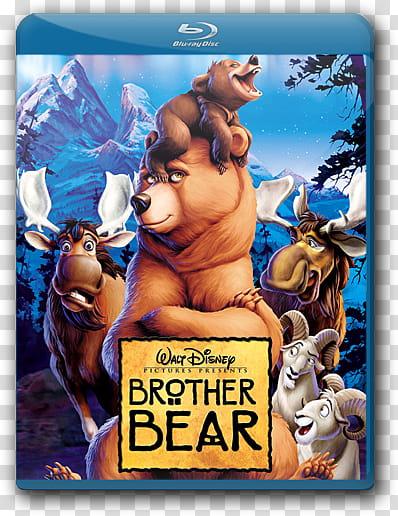 Disney Blu Ray Cover Icon , brotherbear transparent.