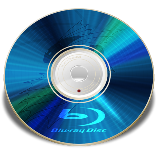 Hardware Blu ray disc Icon.