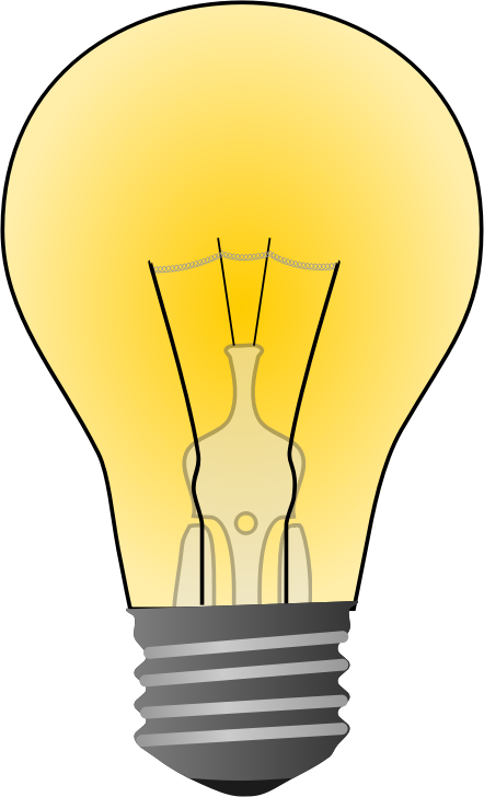 Free to Use & Public Domain Light Bulb Clip Art.