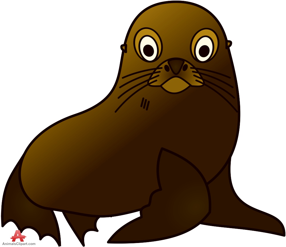 Animals Clipart of blubber.