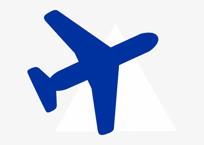 Blue Plane Clip Art At Clker Com Vector Online Royalty.