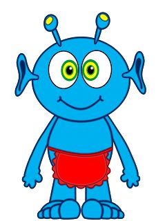 Free Blue Alien Cliparts, Download Free Clip Art, Free Clip.