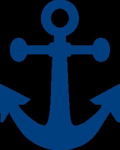 Blue Anchor Clip Art at Clker.com.